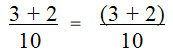 Example of Isolation in the Numerator of a Fraction